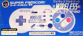Super Famicom Wireless Multi Pad