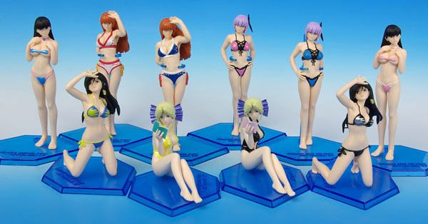 Dead or Alive Xtreme 2 Figures (New)