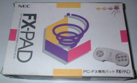 PC FX Pad (New)