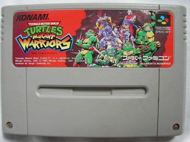 Teenage Mutant Ninja Turtles Mutant Warriors (Cart Only)