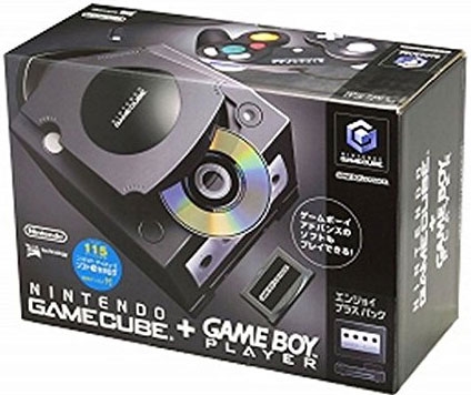 Japanese GameCube Console with GameBoy Player (Black)