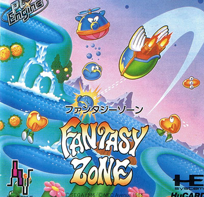 Fantasy Zone (Hu Card Only)