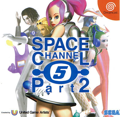 Space Channel 5 Part 2 (New) with Guide Book