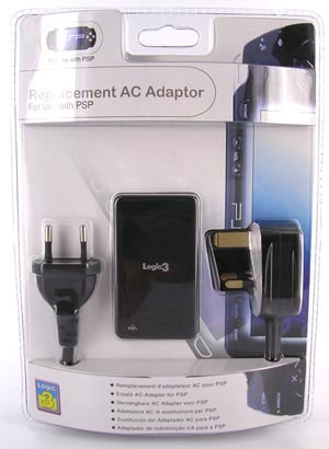 PSP Replacement AC Adaptor