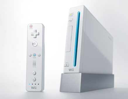 Japanese Wii Console (White)