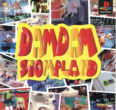 Dam Dam Stompland with Demo Disk