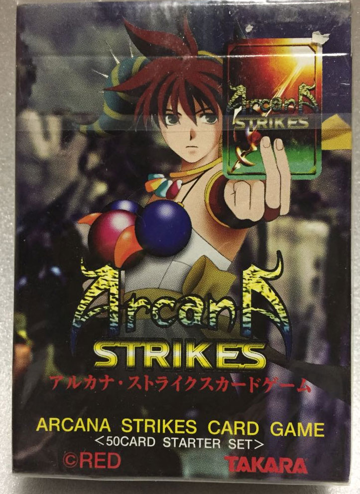 Arcana Strikes Card Game (New)