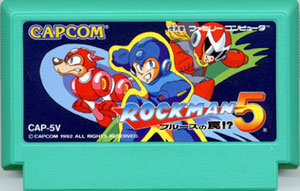 Rockman 5 (Cart Only)
