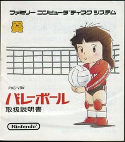 Volleyball Pro Wrestle Set (No Manual)