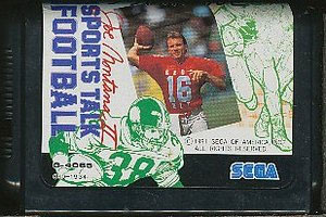 Joe Montana Football (Cart Only)