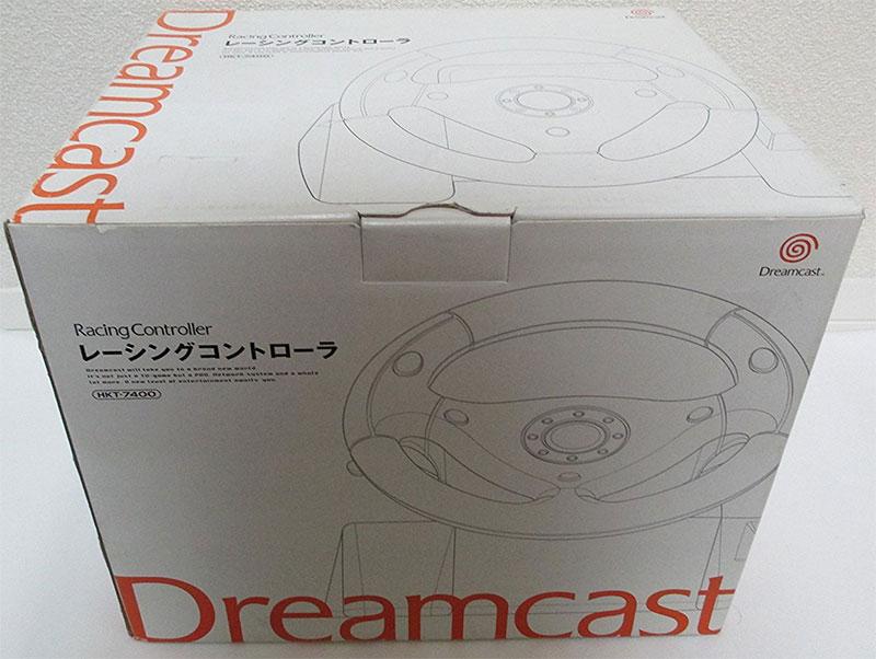 Dreamcast Racing Controller (No Manual)