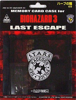 Memory Card Case Biohazard 3 (New) (Preorder)