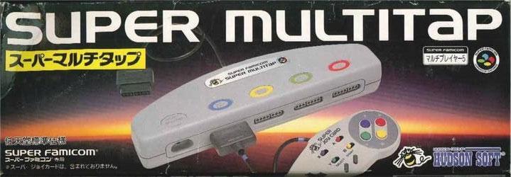 Super Famicom Super Multitap (No Box or Manual)