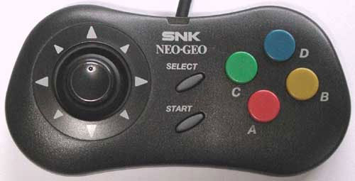 Neo Geo CD Controller (Unboxed) from SNK - SNK Hardware