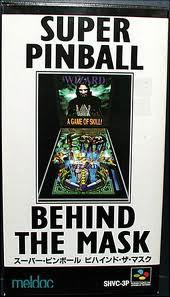 Super Pinball Behind the Mask