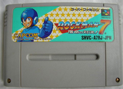 Rockman 7 (Cart Only)