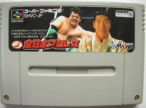 All Japan Pro Wrestle (Cart Only)