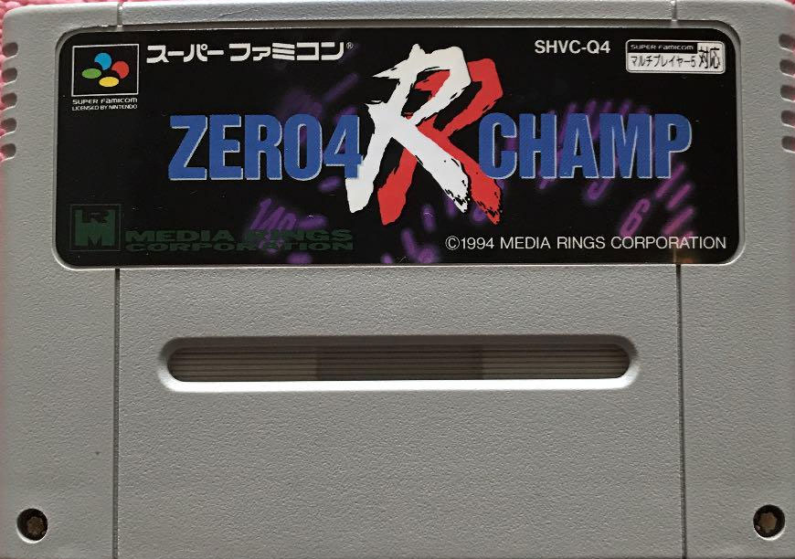Zero 4 Champ RR (Cart Only)