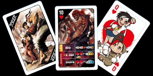 Super Street Fighter IV Arcade Edition Playing Cards (New)