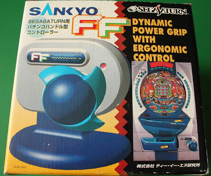 Sega Saturn Sankyo Pachinko Controller (New)
