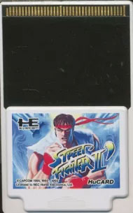 Street Fighter II Dash Champion Edition (Hu Card Only)