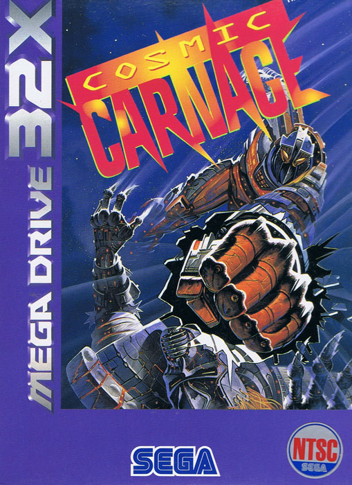 Cosmic Carnage (New) (Asian Version) from Sega - 32X