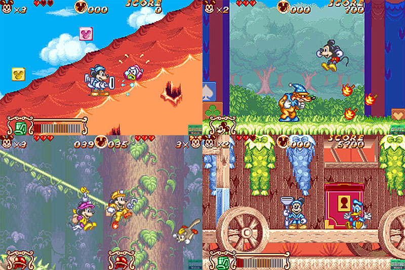 Mickey and Minnie Magical Quest 2 from Capcom - Gameboy Advance