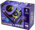 Japanese GameCube Console Violet with GameBoy Player - Nintendo