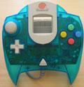 Dreamcast Controller Aqua Blue (New) - Sega