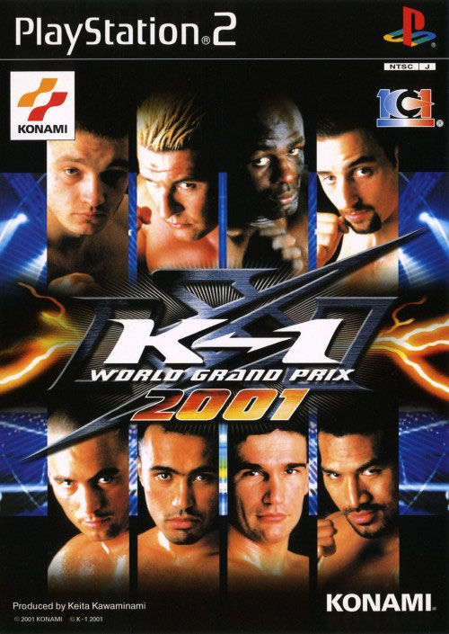 K-1 World Grand Prix 2001 from Konami - PS2