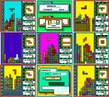 Tetris DX from Nintendo - Gameboy Color