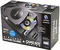 Japanese GameCube Console with GameBoy Player (Black) title=