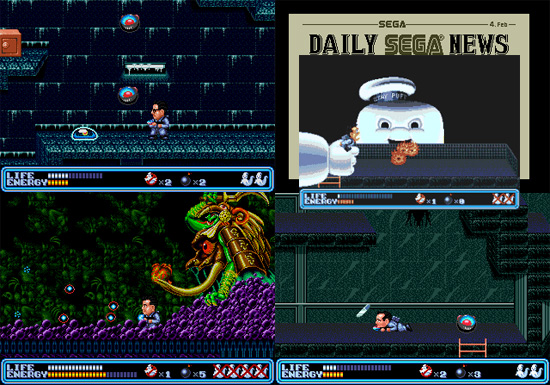 Ghostbusters From Sega Mega Drive