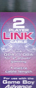 GameBoy Advance Link Cable (New) - Third Party