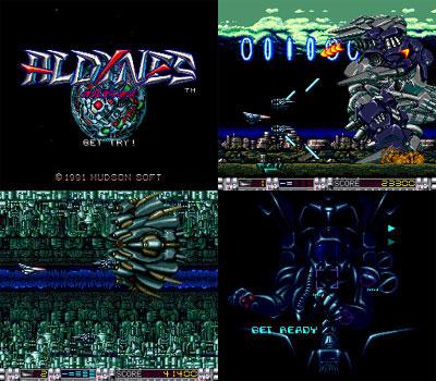 Aldynes (Card Slip) from Hudson Soft - PC Engine Super Grafx