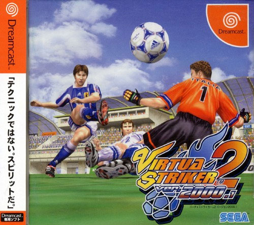 Virtua Striker 2 Ver 2000.1 (New) from Sega on Dreamcast