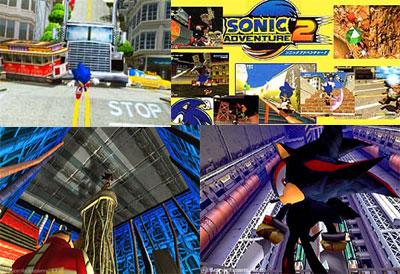 Sonic Adventure 2 Birthday Pack from Sega - Dreamcast