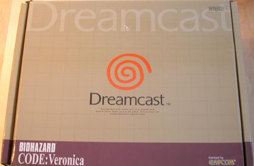 [RECH] console dreamcast biohazard code veronica rouge 1800 ex Hkt6600front