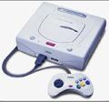 Japanese Sega Saturn Console (Mist Grey) (No Box or Manual) title=