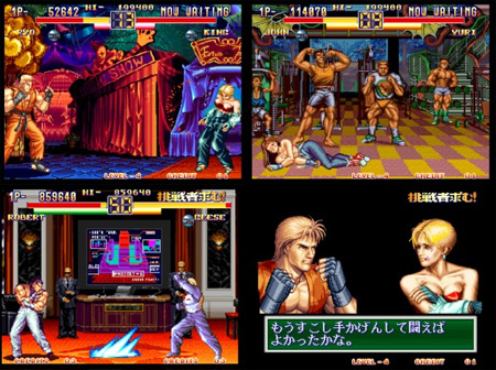 Art Of Fighting 2 From Snk Neo Geo Aes Carts