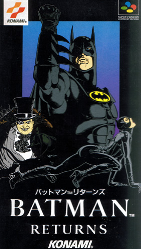 Batman Returns from Konami on Super Famicom