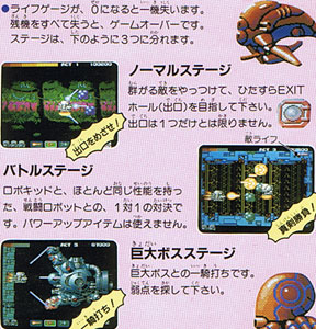 Atomic Robo Kid Special From Upl Pc Engine Hu Card