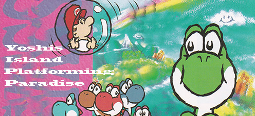 Platforming Paradise in Yoshi's Island on the Super Famicom