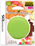 DS Card Case (Green Tea Macaron Design) (New)