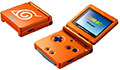 GameBoy Advance SP Naruto RPG Orange (New)