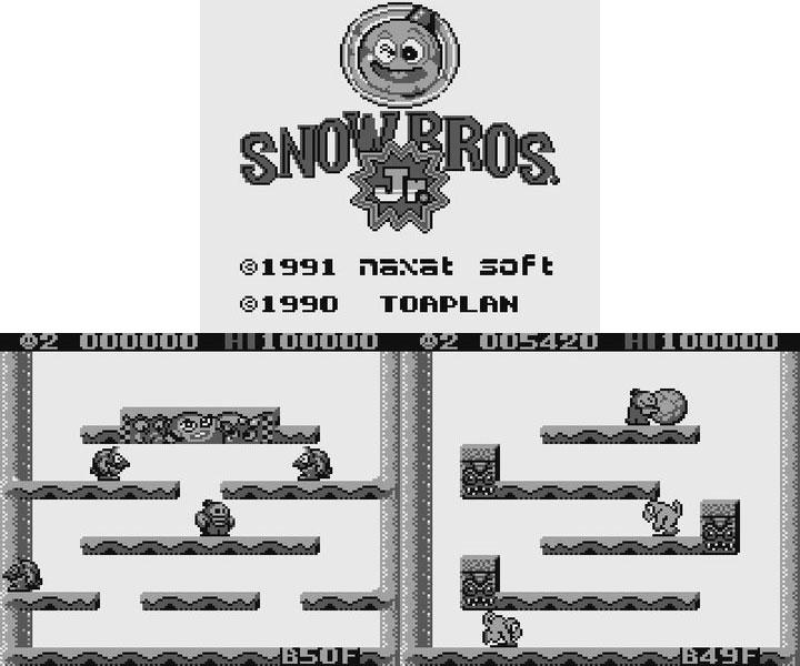Snow Bros Sprite View Screen Shots · Snow Bros