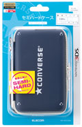 Nintendo 3DS Converse Carry Case (Blue) (New)  - Elecom