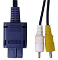 GameCube Monoaural AV Cable (New) - Hori