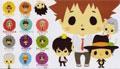 Hitman Reborn Keychain Mascot (New) - Yujin