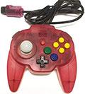 Hori Mini Pad 64 (Tropical Red) - Hori